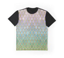 Mermaid Scales (pastel) Graphic T-Shirt