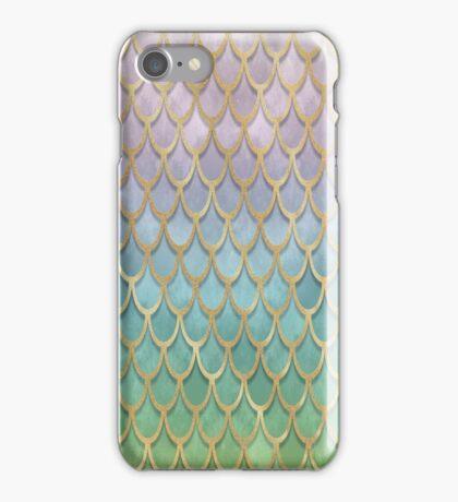 Mermaid Scales (pastel) iPhone Case/Skin