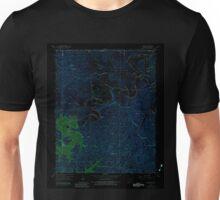 USGS TOPO Map Arkansas AR Beaver 257952 1957 24000 Inverted Unisex T-Shirt