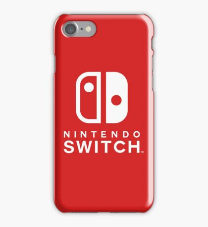 Nintendo Switch iPhone Case/Skin