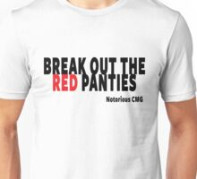 Conor Mcgregor Quote, Break Out The Red Panties Unisex T-Shirt