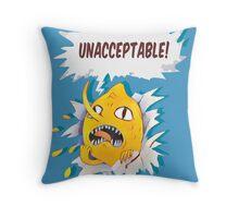Lemon! Throw Pillow