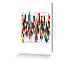 Pinetrees Greeting Card