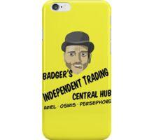 Badger's Independent Trading iPhone Case/Skin