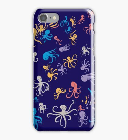 octopuses party 2 iPhone Case/Skin