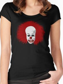 Sinister Clown Women's Fitted Scoop T-Shirt