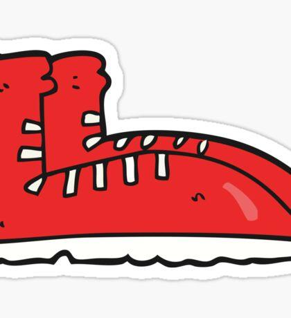 cartoon boots Sticker