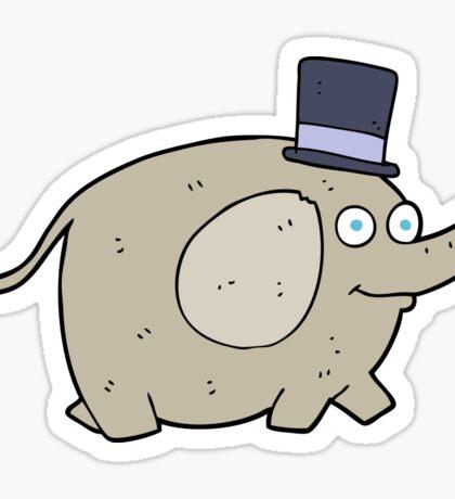 cartoon elephant Sticker