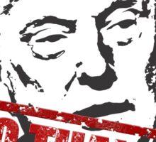 Trump? NO THANKS! Sticker