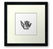 PC-CAT_#3 Framed Print