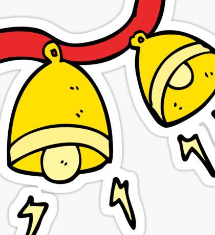 cartoon jingle bells Sticker