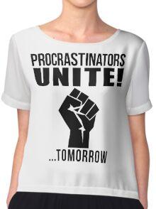 Procrastinators unite! Chiffon Top