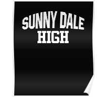 Sunnydale High white Poster