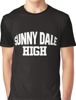 Sunnydale High white Graphic T-Shirt