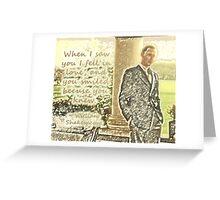 Shakespeare Freddie Greeting Card