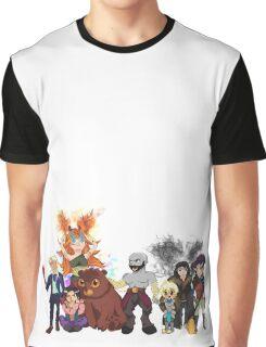 Critical Role, Vox Machina Colour Art Graphic T-Shirt