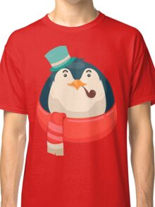 Hipster Penguin Classic T-Shirt