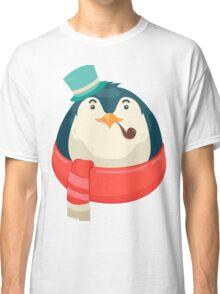 Hipster Penguin Classic T-Shirt