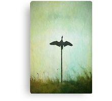 Bird Sculpture Canvas Print