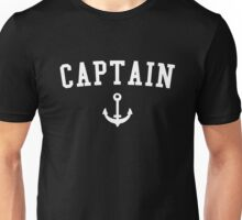 Captain white Unisex T-Shirt