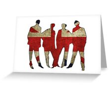 England Greeting Card