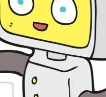 cartoon little robot Sticker