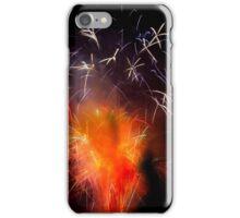 Bonfire night fireworks iPhone Case/Skin