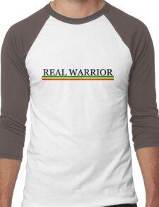 REAL WARRIOR Men's Baseball ¾ T-Shirt