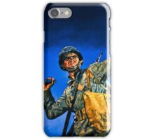 Infantryman in training iPhone Case/Skin