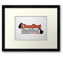 Goodkat & Baddog (Lucky Number Slevin) Framed Print
