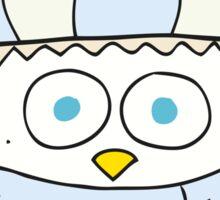 cartoon cute little owl Sticker