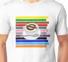 London Underground Cafe Latte Unisex T-Shirt