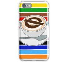 London Underground Cafe Latte iPhone Case/Skin