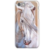 """Andalusian stallion"" - close-up iPhone Case/Skin"