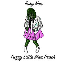Easy Now Fuzzy Little Man Peach - Old Gregg Photographic Print