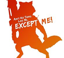 Rocket Raccoon - Ain't No Thing Like Me, Except Me! by Maxmanax
