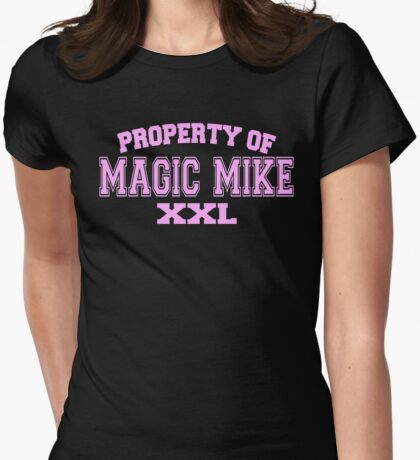 Property Of Magic Mike XXL Womens Fitted T-Shirt