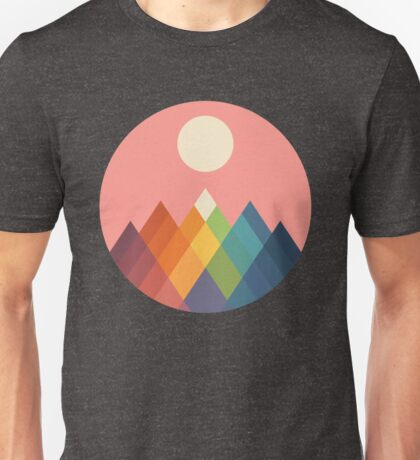 Rainbow Peak Unisex T-Shirt