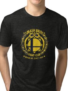 Smash Bros Fight Club Tri-blend T-Shirt