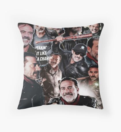 Negan - The Walking Dead Throw Pillow
