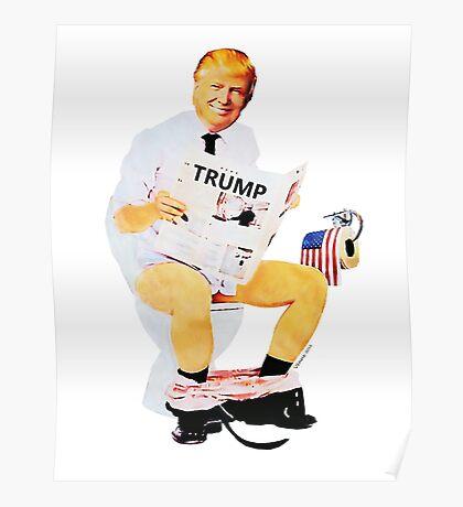 Donald Trump Portrait Poster