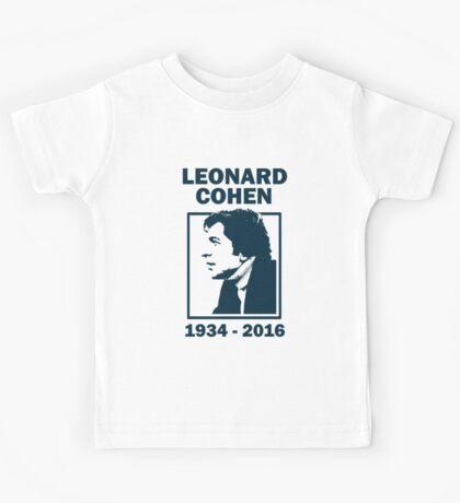 Leonard Cohen  Kids Tee