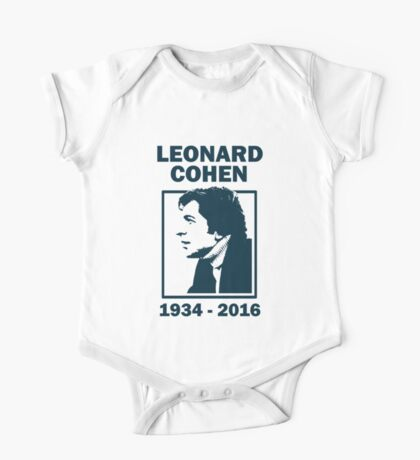 Leonard Cohen  One Piece - Short Sleeve