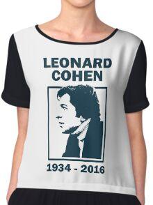 Leonard Cohen  Chiffon Top