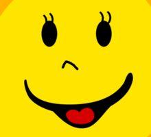 SUNSHINE SMILEY CALIFORNIA FACE CUTE HAND DRAWN SMILE POPULAR STICKERS TOP DECAL SUN Sticker