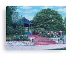 Gazebo at St. Charles, Mo. Canvas Print