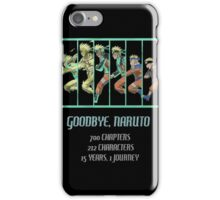 Kakashi - Goodbye iPhone Case/Skin