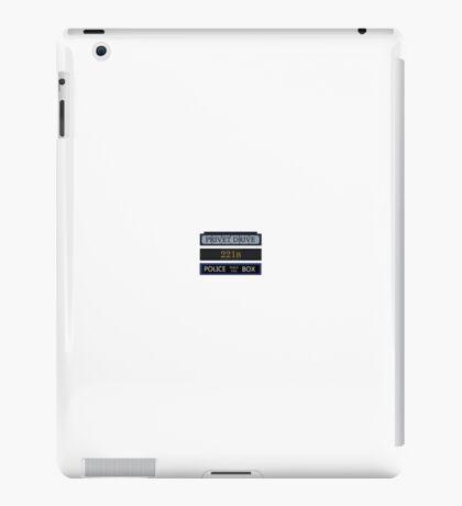 Privet Drive / 221B Baker Street / Police Box iPad Case/Skin