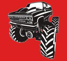 Monster Truck Kids Tee
