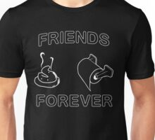 Friends Forever (Poop and Toilet Paper) Unisex T-Shirt
